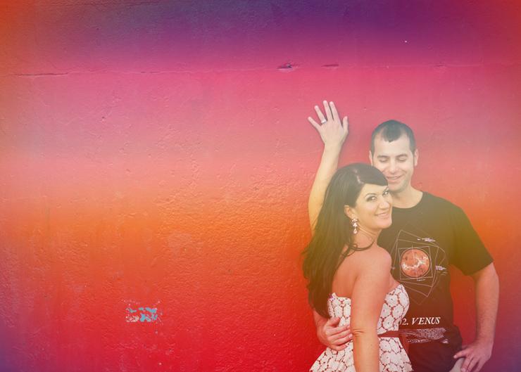 Daytona Beach engagement photo shoot