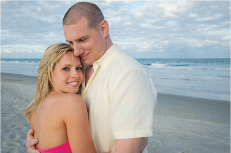 Cocoa Beach Engagement Photography