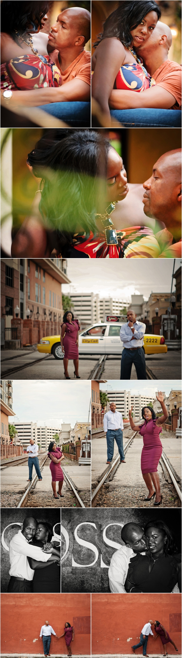 Engagement Photography Downtown Orlando
