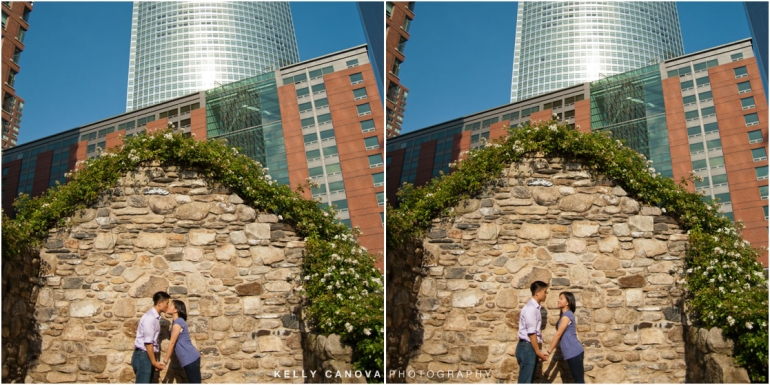 engagement photography in new york city