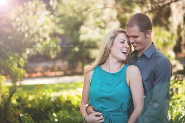 Orlando Engagement Photography - Leu Gardens