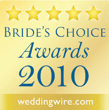 2010 wedding wire brides choice winner in orlando fl
