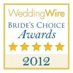 2012 wedding wire brides choice award winner
