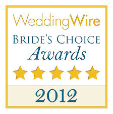 2012 wedding wire brides choice award winner in orlando fl