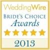 2013 wedding wire brides choice winner