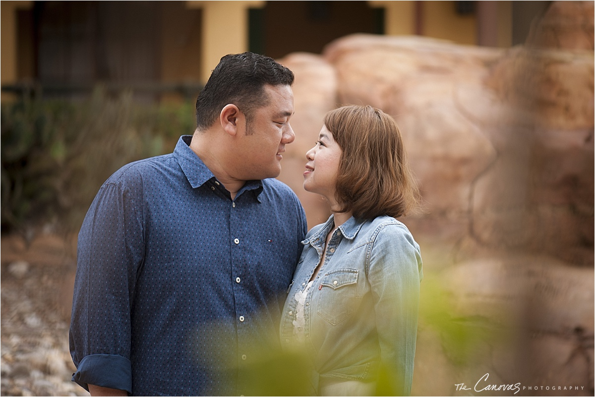 Disney World Engagement Photography