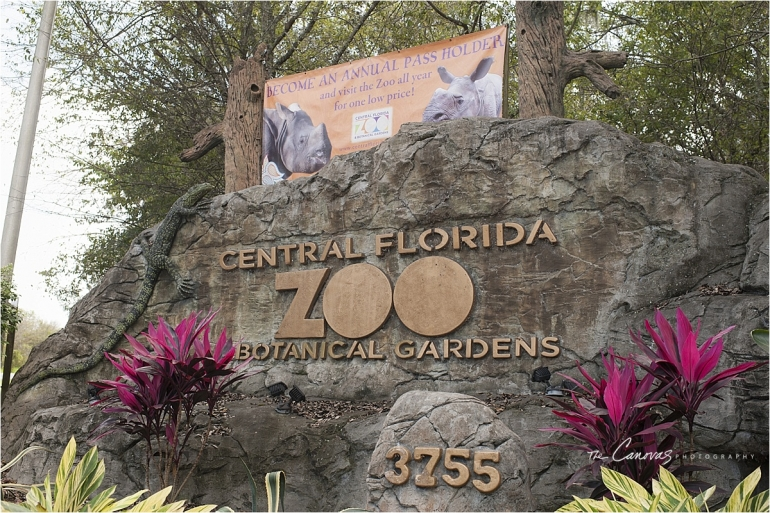Sanford Zoo sign