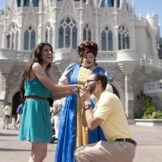professional disney world engagement and wedding photography