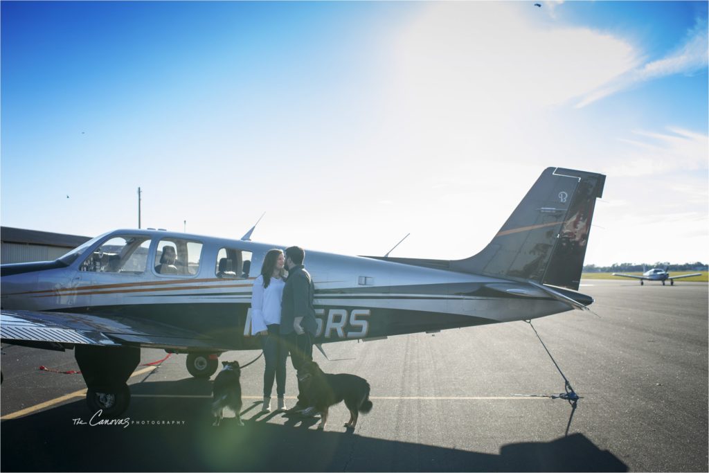 Deland Airport Engagement The Canovas Photography