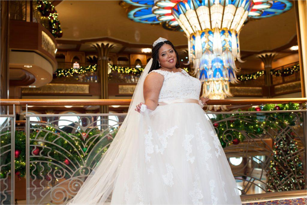 Disney Cruise Wedding.Disney Dream Cruise Wedding Photos Nakiya And Reese Wedding Day